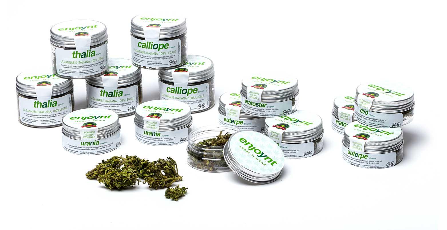 Linea completa cannabis light